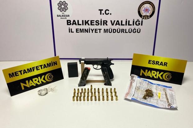 Balıkesir'de polisten 37 şahsa 'Huzur' operasyonu