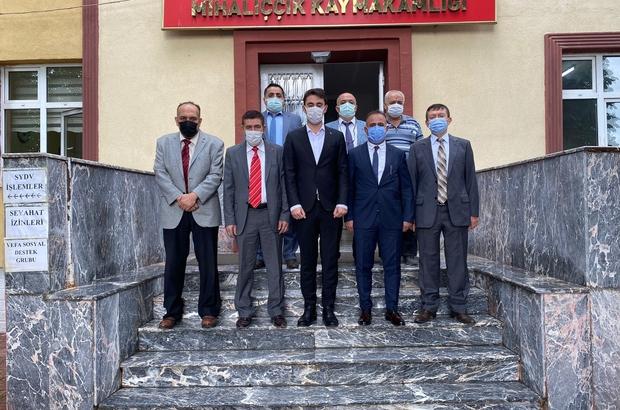 Eskişehir Kızılelma Turan Derneği'nden Mihalıççık'a anlamlı ziyaretler