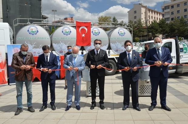 """Erzurum'da """"Süte Değer Projesi"""" Proje ile çiğ sütün litresi 2 yılda 90 kuruştan 2.70 TL'ye yükseldi"""