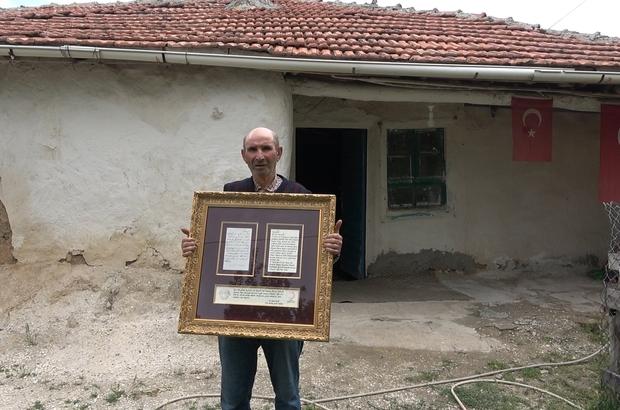 Yemen'de esir düşen Kırıkkaleli Hacı Dede'nin mektubu yıllar sonra torunlarına teslim edildi Esir Osmanlı askerlerinin mektupları torunlarına ulaştırılıyor