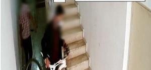 Bisiklet hırsızları güvenlik kameralarından kaçamadı