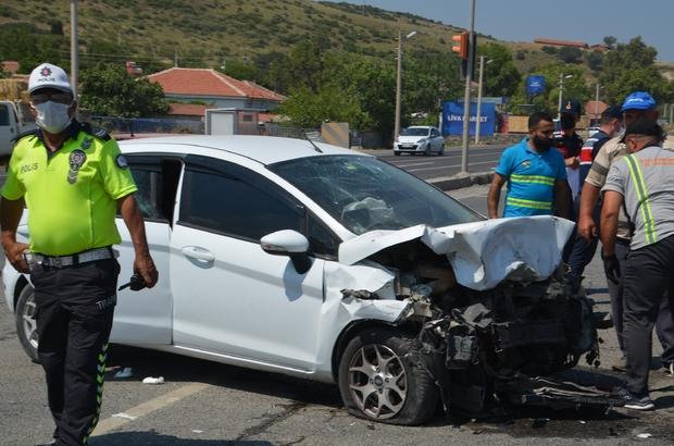 İzmir'de trafik kazası: 9 yaralı