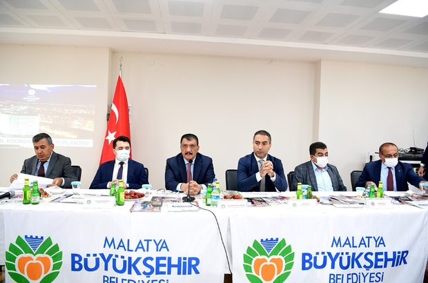 """İlçe koordinasyon toplantılarının 12. durağı Doğanyol oldu Malatya Büyükşehir Belediye Başkanı Selahattin Gürkan: """"Makamlar nefsi tatmin, insanlara tahakküm edecek yerler değil, hizmet yerleridir"""""""