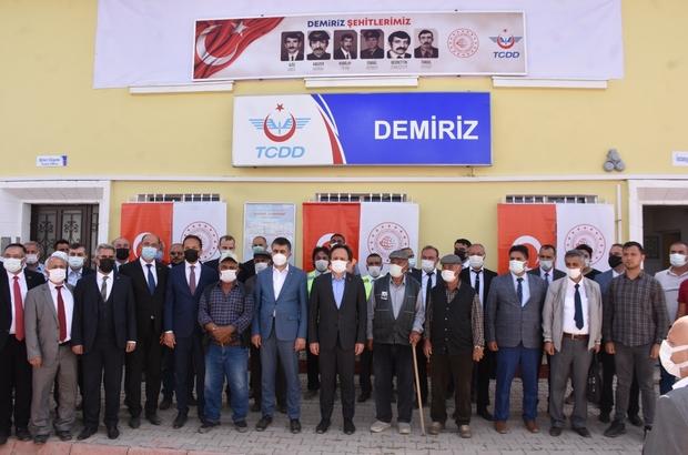 Terör örgütü PKK'nın şehit ettiği 6 TCDD personeli ile 2 sivil vatandaş anıldı 25 yıldır dinmeyen acı