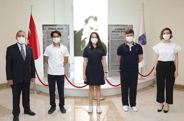 TÜBİTAK Lise Öğrencileri Araştırma Projeleri Yarışması SANKO öğrencileri Türkiye ikinciliği ve teşvik ödülü kazandı
