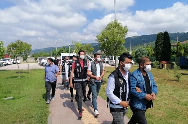 Kocaeli'deki kaçak tütün operasyonunda 7 tutuklama