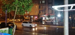 Aksaray'da sağanak yağış etkili oldu