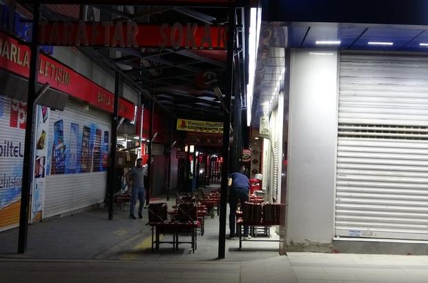 Van'daki taraftar sokağında kısıtlama sessizliği