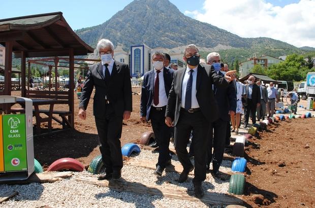 Eğirdir'de Sıfır Atık Parkı açıldı