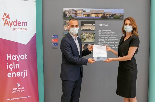 Aydem Perakende ile JTI Türkiye Temiz Enerji anlaşması imzaladı