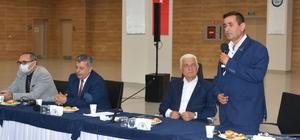 Başkan Gürün Seydikemer muhtarları ile buluştu Muğla Büyükşehir Belediye Başkanı Dr. Osman Gürün, Seydikemer muhtarları ile bir araya geldi.