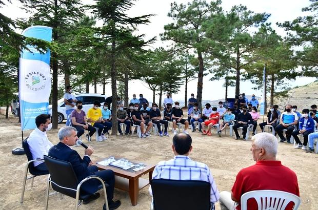 """Çınar, gençlerle buluştu Çınar: """"Gençlik ve spor yatırımlarında büyük mesafeler aldık"""""""
