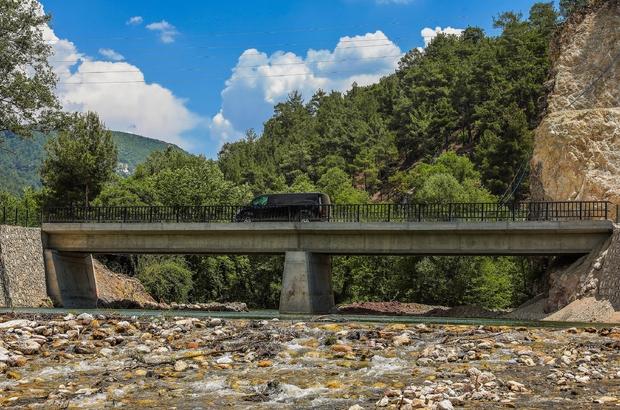 Denizli Büyükşehir asırlık köprü çilesine son verdi Suçatı Köprüsü artık güvenli
