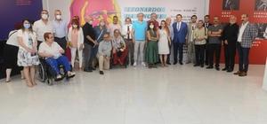 Mersin'de Leonardo da Vinci'ye saygı sergisi açıldı