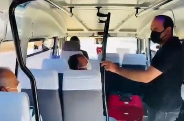 Çeşme'de, toplu taşıma araçlarına sivil jandarma denetimi