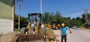 Denizli'de Aktepe Mahallesinde su kesintisi