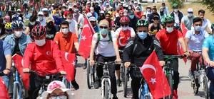 """Aksaray Belediyesi'nden bisiklet festivali Aksaray Belediye Başkanı Evren Dinçer: """"Aksaray'da bisiklet kullanımını artıracağız"""""""