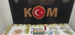 Döviz bürolarındaki eskimiş paraları sahte para yapımında kullanan 2 şüpheli yakalandı Piyasa değeri 83 bin TL olan toplam 144 adet sahte para ele geçirildi