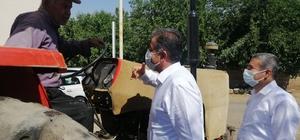 Milletvekili Fırat köy yollarında