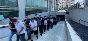 Denizli dahil Mersin merkezli 18 ilde yasadışı bahis operasyonuna 35 tutuklama Yasadışı bahis operasyonunda gözaltına alınan 89 kişiden 35'i, çıkarıldıkları mahkemece tutuklandı Yasa dışı bahis hesaplarında son 1 yıl içerisinde 190 milyon TL'lik para transferi olduğu tespit edilmişti