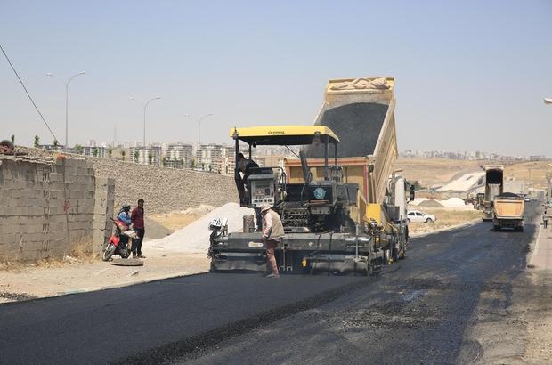 Haliliye'de asfaltlama çalışmaları sürüyor