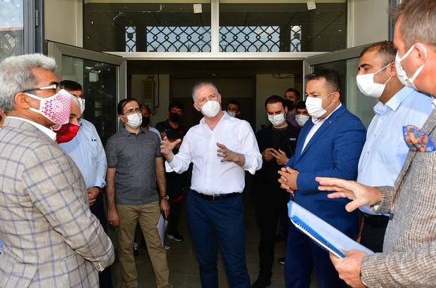Dev spor kampüsünde sona gelindi Vali Gül, Milletvekilleri ile Gaziantep spor lisesi kampüsünde incelemelerde bulundu