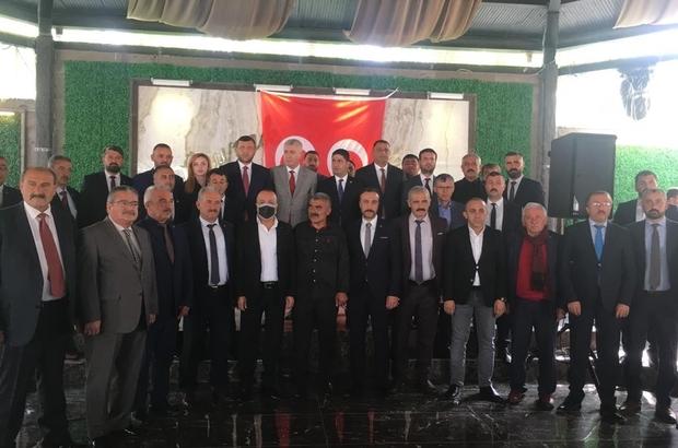"""MHP Kayseri İl Teşkilatı İstişare Toplantısında buluştu MHP Genel Başkan Yardımcısı İsmail Özdemir: """"Birileri terörle mücadelede kararlılık örneği sergileyen devlet adamlarını hedef alıyor ise Cumhur İttifakı doğru yoldadır"""""""