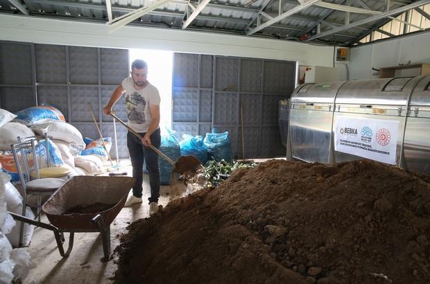 Sebze ve meyve atıklarından üretilen gübre yerli tohumlarda kullanılıyor