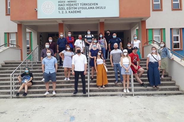 9 ülkeden 28 katılımcı Düzce'ye geldi