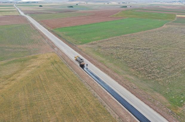 Kulu'ya 26 kilometrelik mahalle yolu