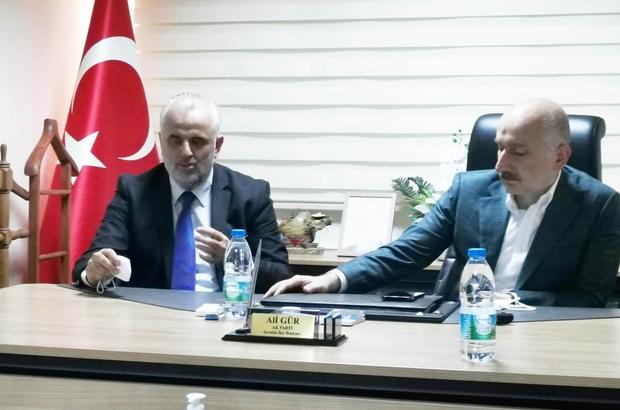 """AK Parti Ayvalık İlçe Başkanı Gür, """"Müjdeler Olsun Ayvalık"""" Ali Gür'den Balıkçı Barınağı müjdesi"""