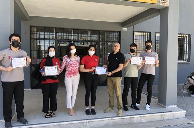 """Öğrenciler için """"Güvenli Okul Sağlıklı Dünya"""" eTwinning projesi yapıldı"""
