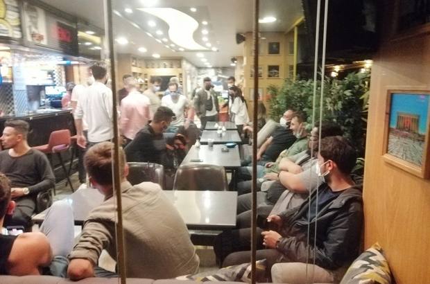 Eğlencenin saatini kaçıran 57 kişiye 197 bin lira ceza