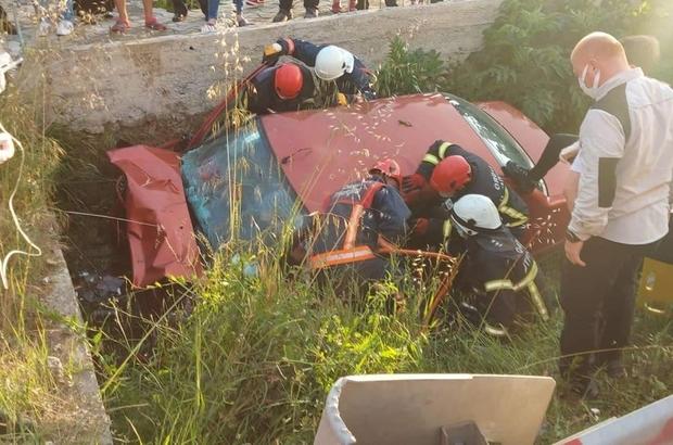 Ordu'da trafik kazası : 2 ölü