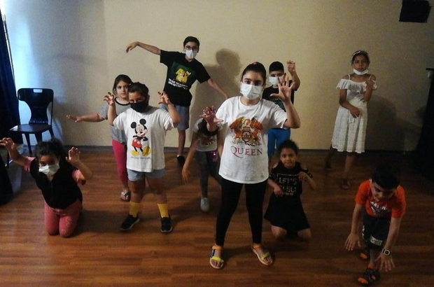 Mezitli'de çocuk tiyatrosu kuruldu