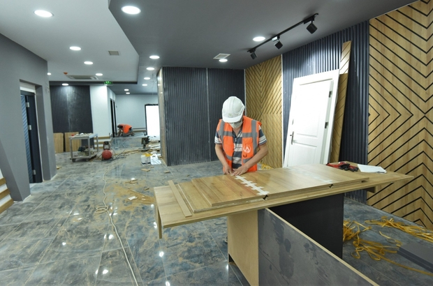 Mükemmeliyet Merkezi açılışa hazırlanıyor
