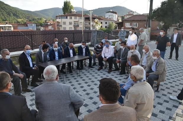 """Başkan Gürkan: """"Halkın talep ve ihtiyaçlarını yerinde tespit ediyoruz"""""""