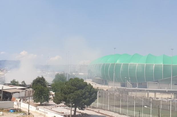 Bursaspor'dan Timsah Arena için yapılan yangın uyarısına cevap geldi