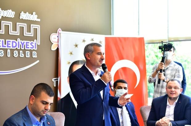Başkan Çınar ve Eyyüp Kadir İnan AK Partili gençlerle buluştu