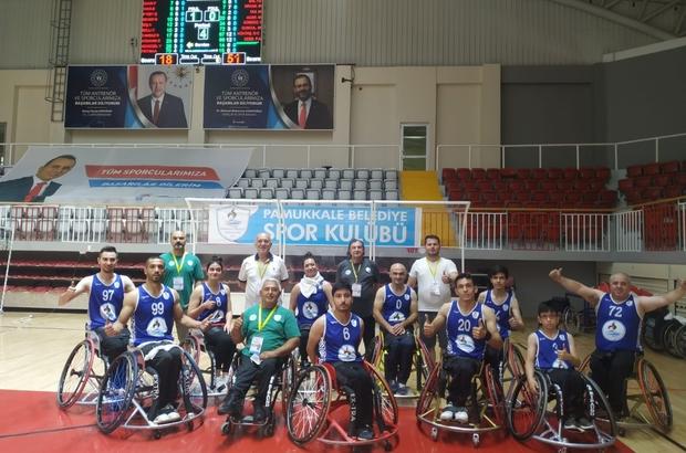 Mavi beyazlılar Denizli'ye 2. Lig takımı olarak dönmek istiyor Pamukkale Belediyespor namağlup olarak Play-off'ta