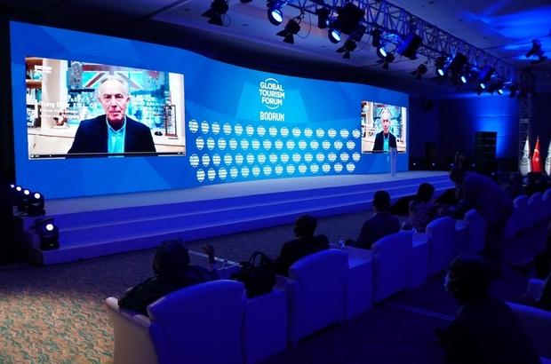 """Dünyanın Turizm Liderleri Bodrum'da buluştu Ahmet Aras: """"Bodrum'u dünyanın Mavi Davos'u haline getirmek istiyoruz"""""""