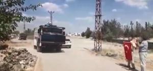 (Düzeltme) DEDAŞ ekipleri, mahalleye zırhlı araç ve TOMA'larla birlikte girdi