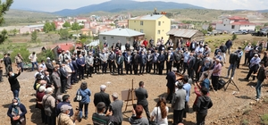 Refahiye'de cemevi inşaatının temeli atıldı