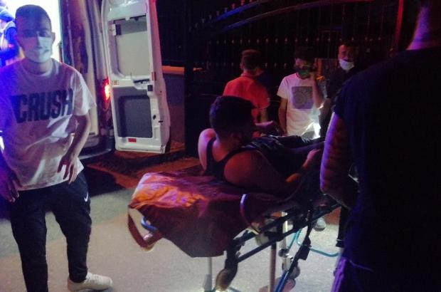Duvardan atlayarak girdiği okul bahçesinde yaralanınca ekipleri alarma geçirdi Kapalı okul bahçesinde yaralanan genci itfaiye kurtardı