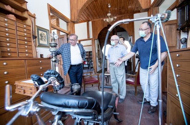 """""""Diş Hekimliği Müzesine"""" ödül Tarihi Kentler Birliği, Türkiye'nin ilk ve tek diş hekimliği müzesini, """"Koleksiyon ve Arşiv Müzeleri"""" dalında ödüle layık buldu"""