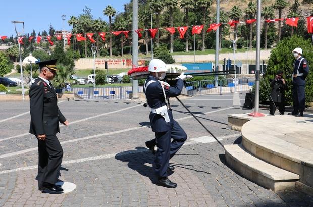 Kahramanmaraş'ta Jandarma Teşkilatının 182. kuruluş yıl dönümü kutlandı
