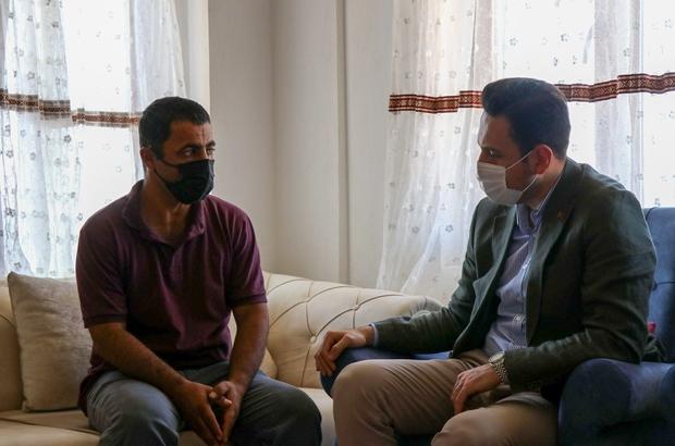 AK Parti'li Makas'tan acılı aileye taziye ziyareti