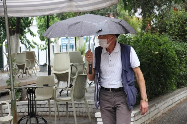 Aydın'da sağanak yağış etkili oluyor