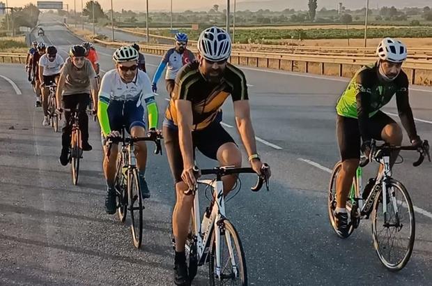 Salihli'de 'Yol' bisiklet grubu kuruldu