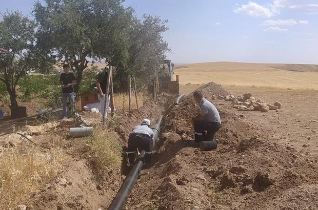 DİSKİ yeni yerleşim alanlarına kanalizasyon şebekesi döşüyor